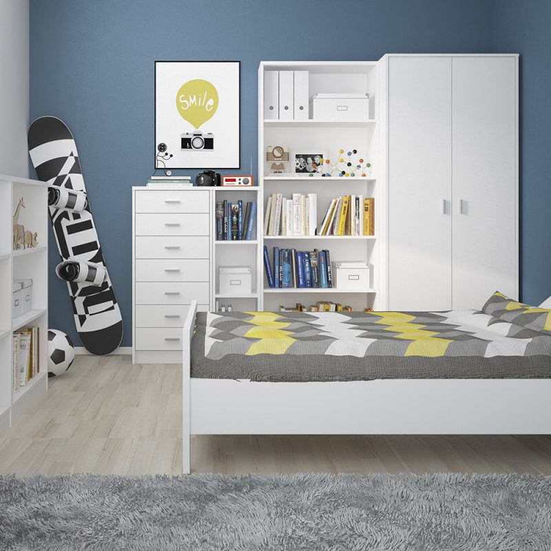 Aster Tall Wide Bookcase 3
