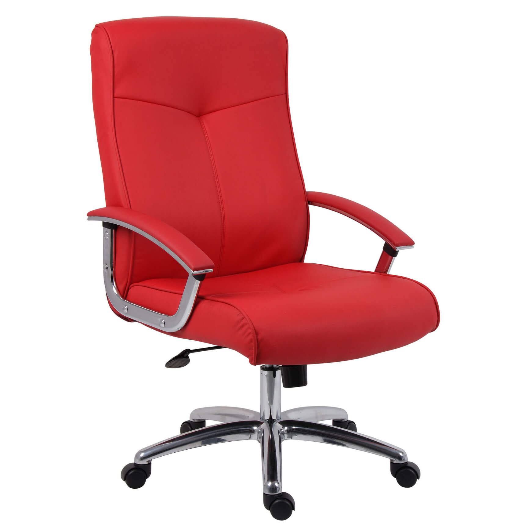 office com red armrests fabric en maui with soft pid kartell ambientedirect chair