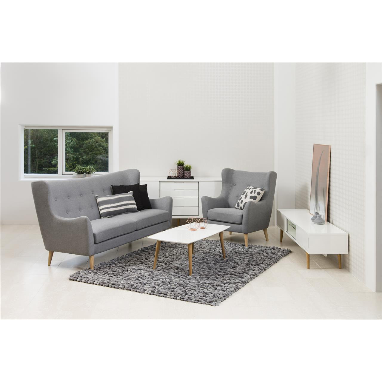Elise White Gloss Tv Table 180cm Modern Tv Units Fads # Meuble Tv Karma