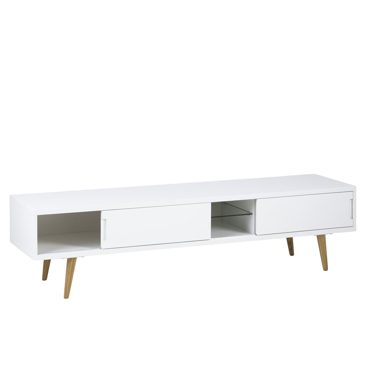 Elise TV Table 180cm White Gloss