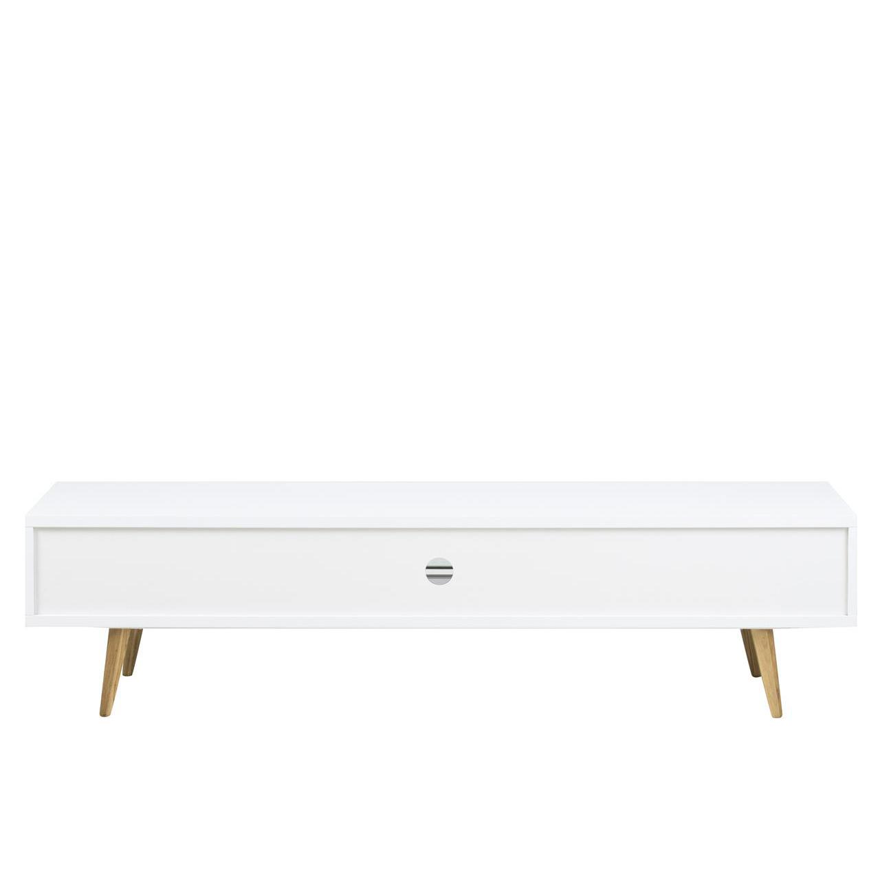 Elise White Gloss Tv Table 180cm Modern Tv Units Fads # Meuble Tv Ovio