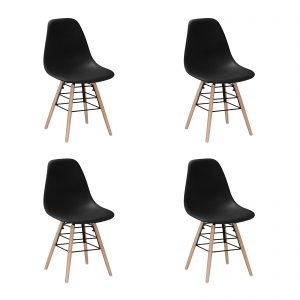 Lilly Chair Black New Design