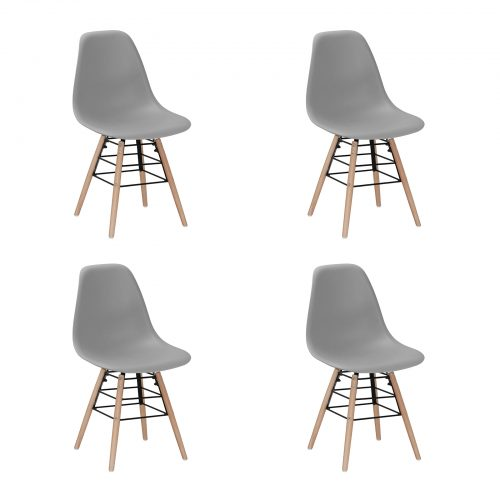 Lilly Chair Light Grey New Design