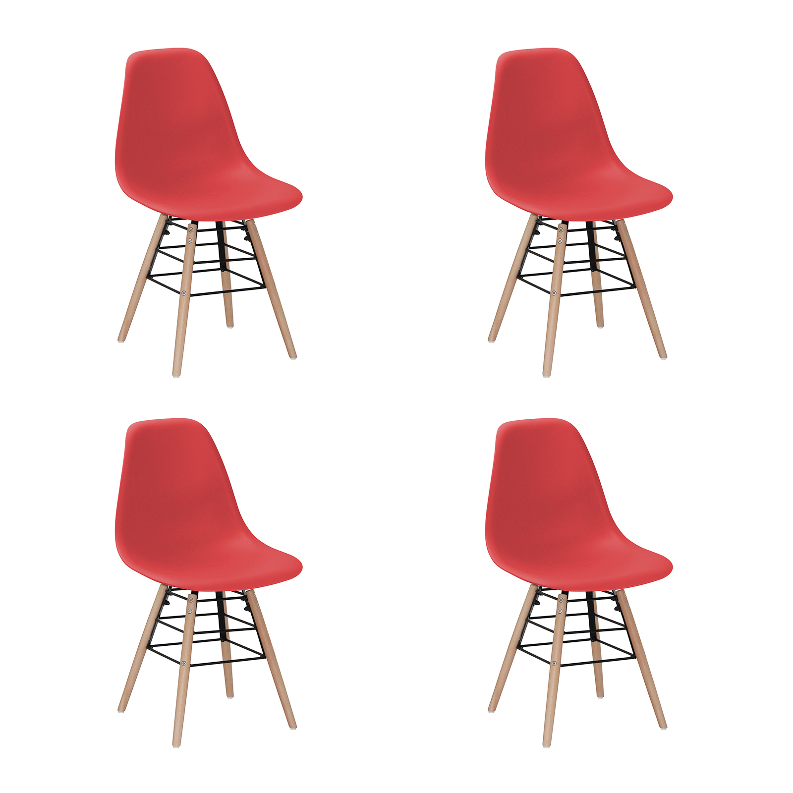 River Bright Coloured Chairs Red Dining Room Furniture