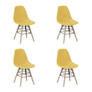 Lilly Chair Yellow New Design