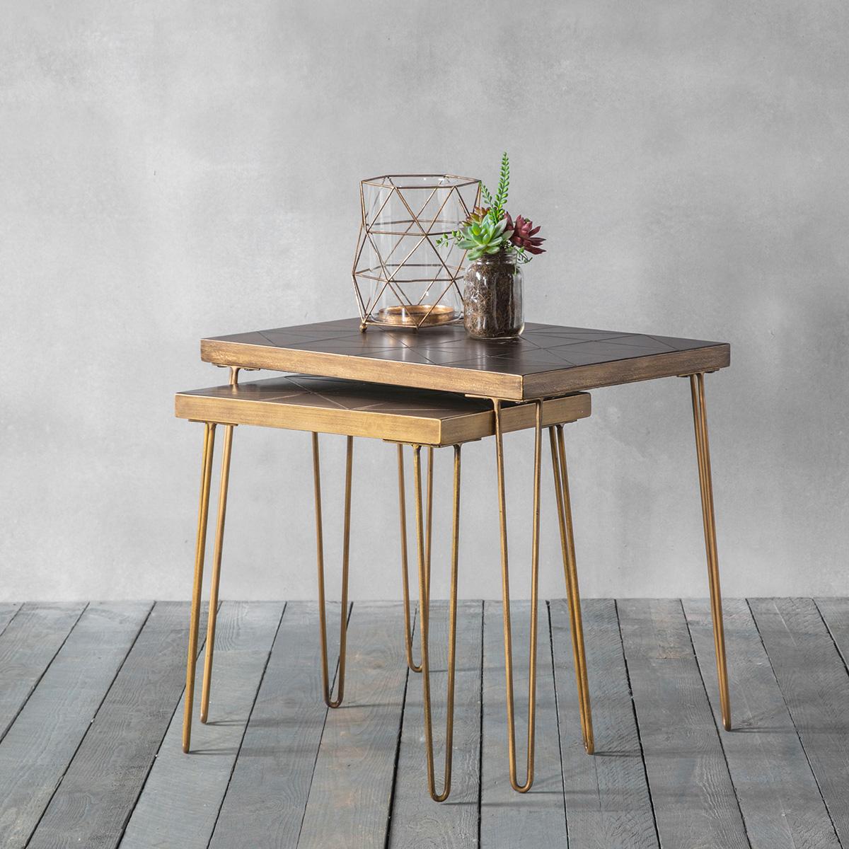 Etna Tiled Nest Of Tables
