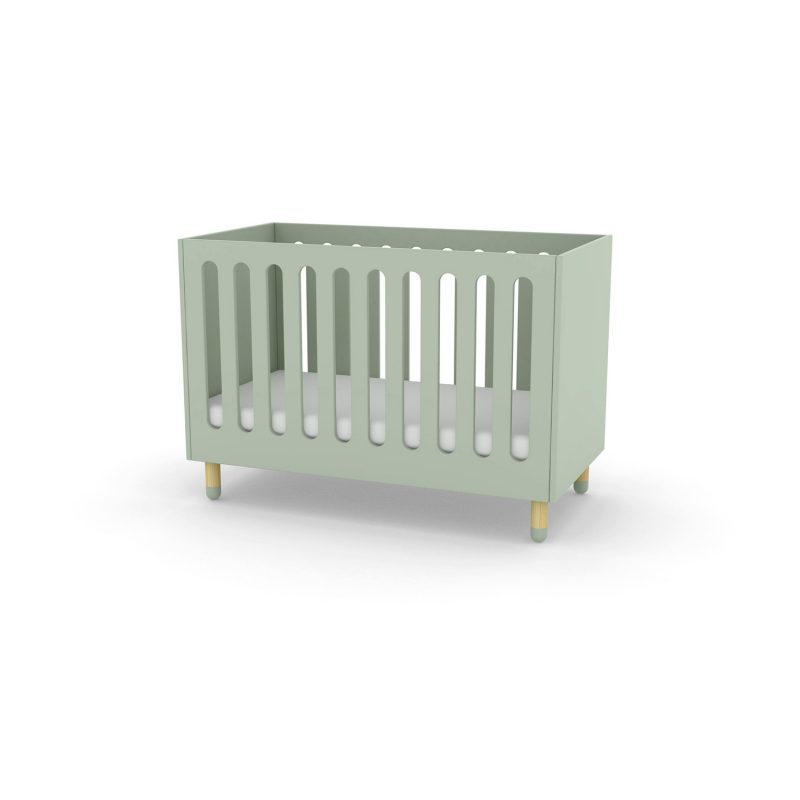 Flexa Play Cot Bed - Mint Green at FADS.co.uk