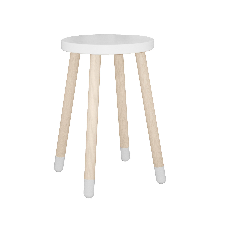 FLEXA Play Side Table (Colour: White)