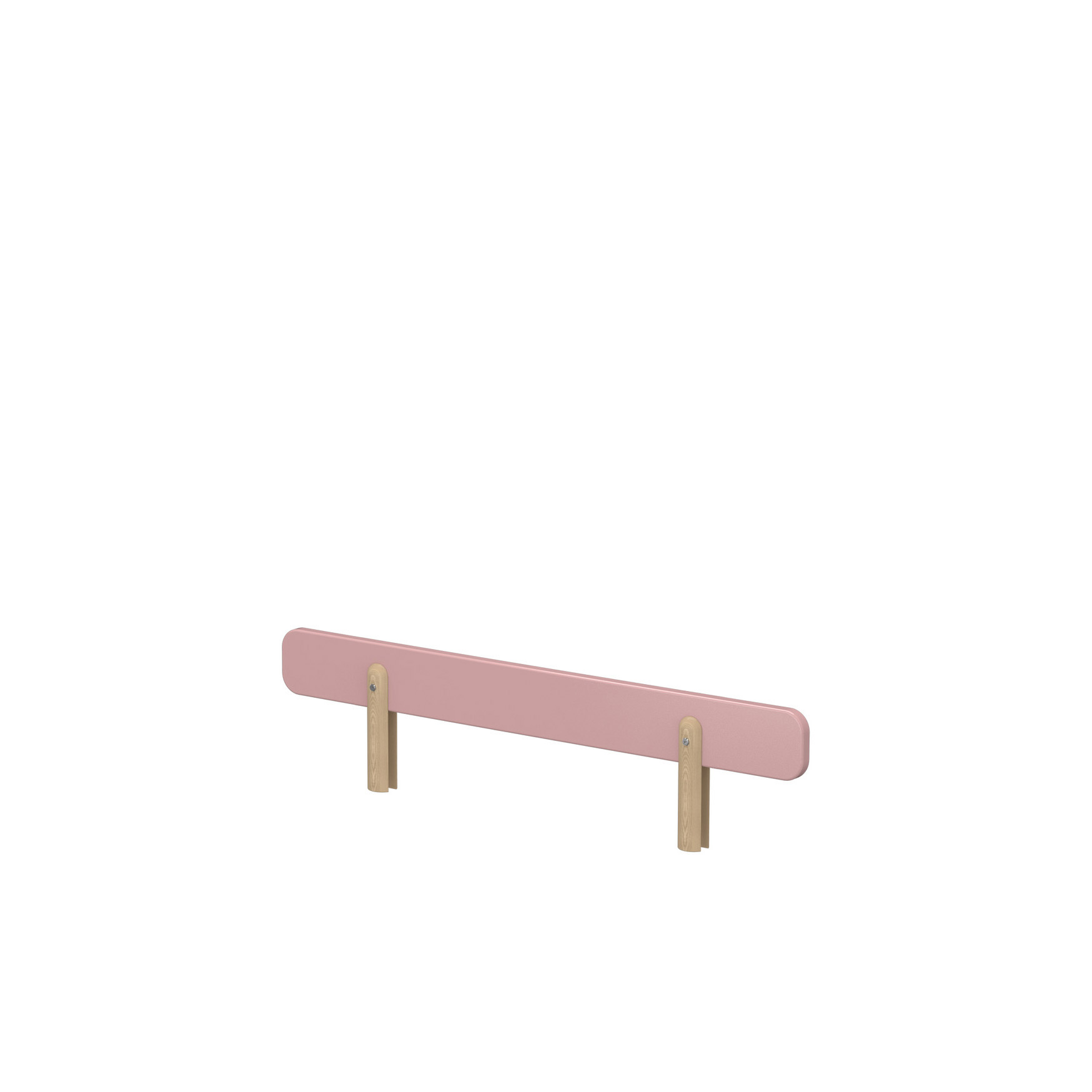 Flexa Play - Single Bed Safety Rail - Rose at FADS.co.uk