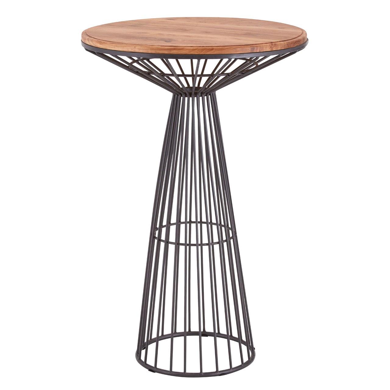 New Foundry Circular Bar Table Elm