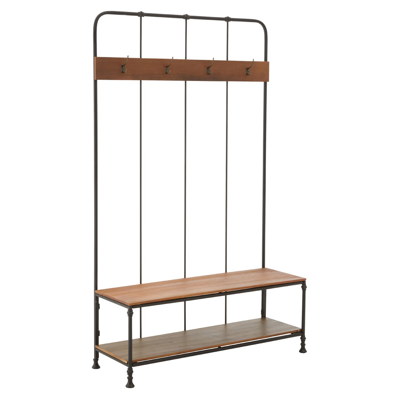 Foundry Hallway Bench and Coat Rack