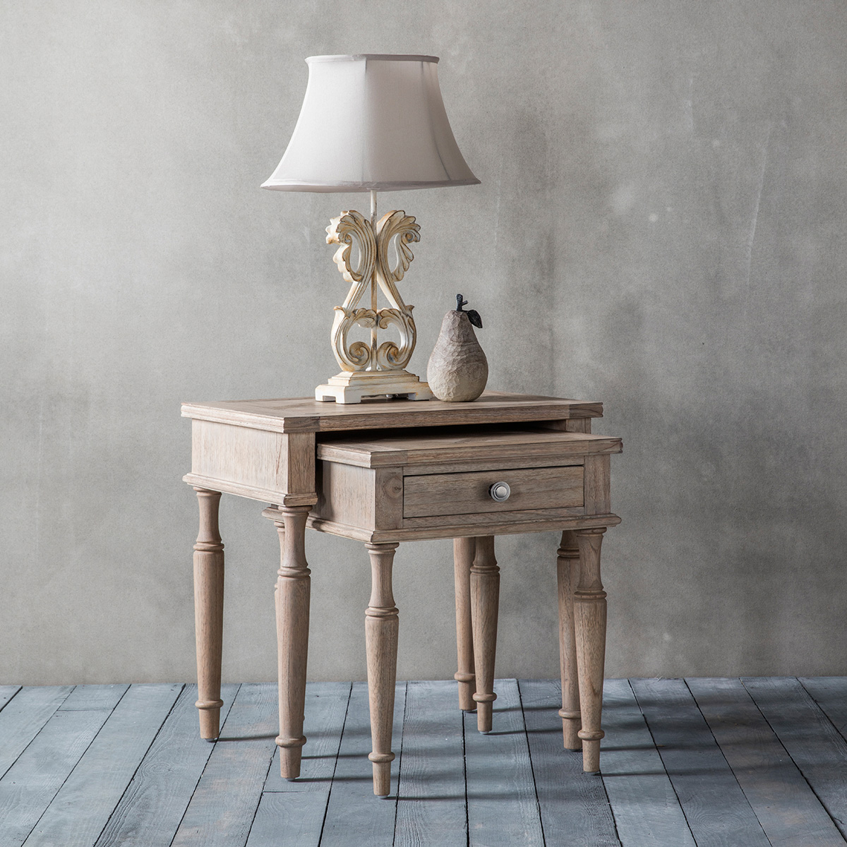French Colonial Nest Of Tables