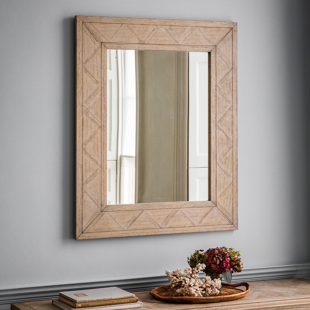 French colonial wall mirror at FADS.co.uk