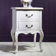 Madeleine bedside drawers in chalk at FADS.co.uk
