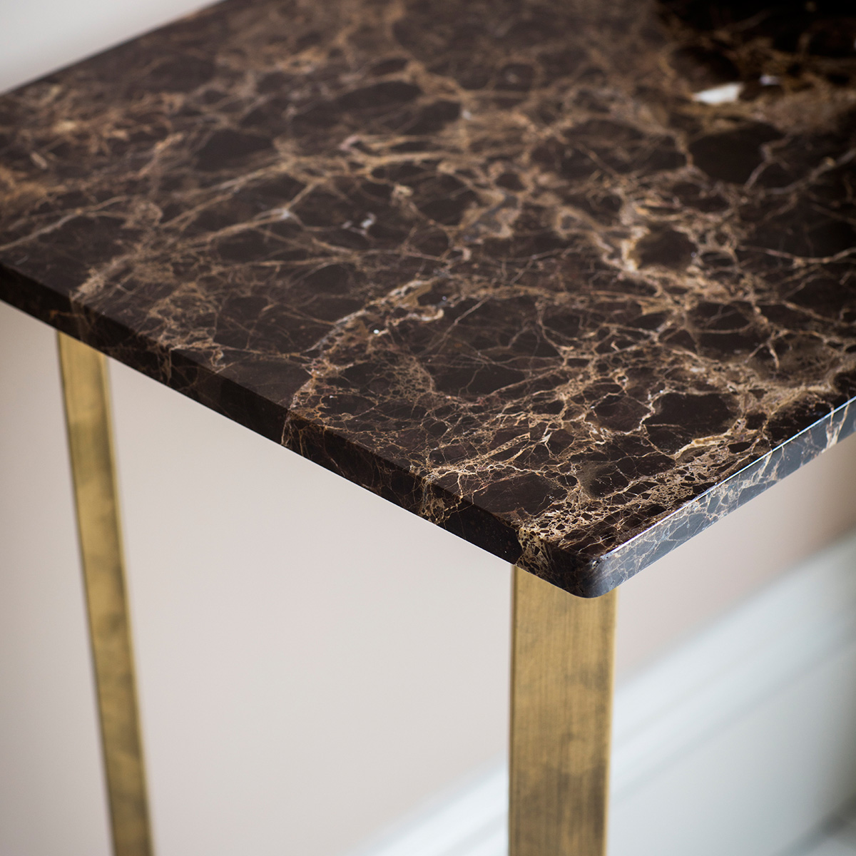 Palatine Marble Console Table at FADS.co.uk