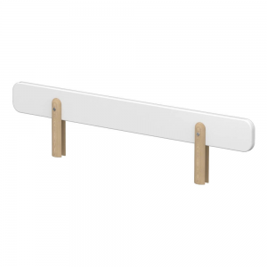 bed safety rail white