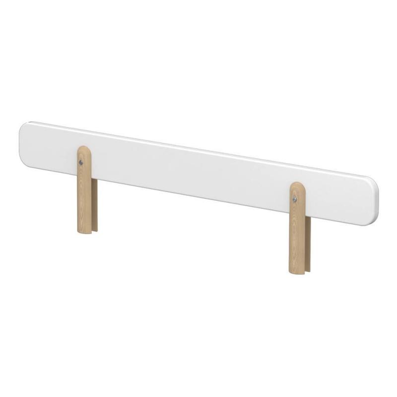 bed safety rail white