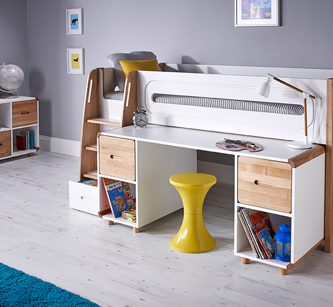 Childrens - Mid Sleeper Beds at FADS.co.uk
