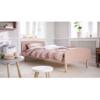 flexa play single bed dusty rose lifestyle1