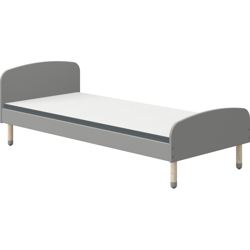 flexa play single bed grey