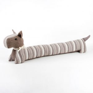 Scotty dog draught excluder