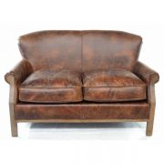 Farley-2-seater-leather-sofa-brown-hessian-back-1