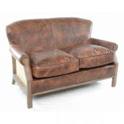 Farley-2-seater-leather-sofa-brown-hessian-back