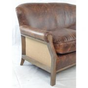 Farley-2-seater-leather-sofa-brown-hessian-back-3