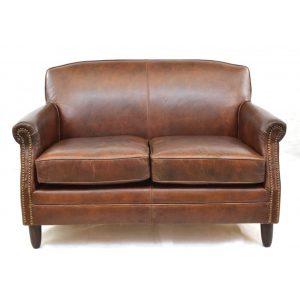 Tremendous Barton Club Sofa 2 Seater Brown Leather Fads Co Uk Download Free Architecture Designs Scobabritishbridgeorg