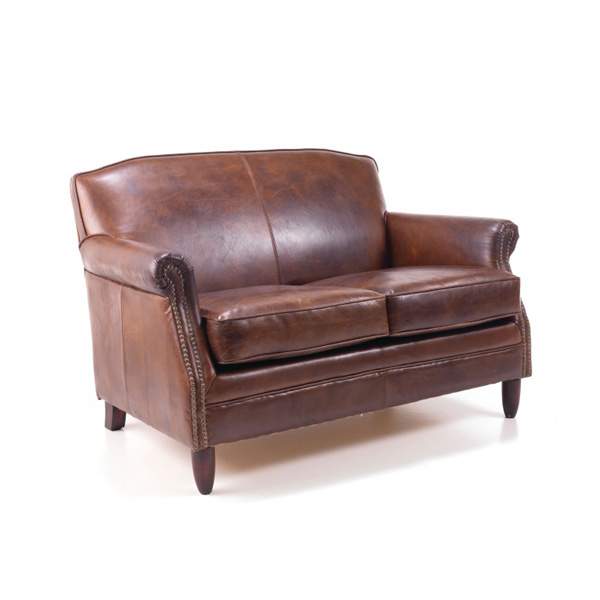 Girton-brown-leather-2-seater-sofa - Copy