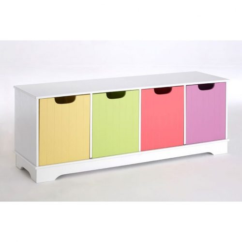Juno Multi Coloured Storage Bench 1