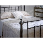 Libra-black-with-crystal-finials-bed-frame-metal-1