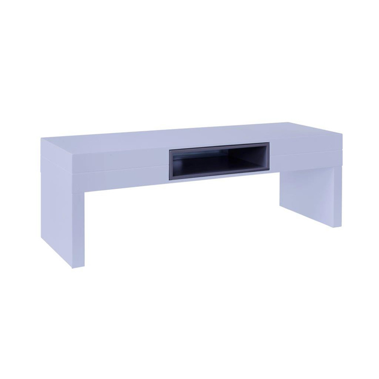 Low-TV-stand--table---Savoye-WHITE-with-GRAPHITE-accent