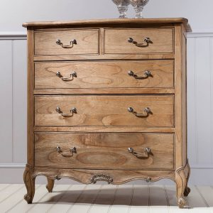 Madeleine Weathered Ash Chest of Drawers 1