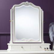 Madeleine chalk dressing table mirror