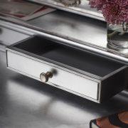 Madeleine dressing table mirror silver 2