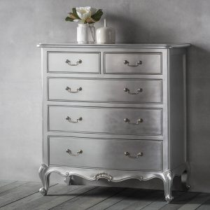 Madeleine silver chest of drawers 1