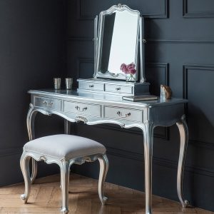 Madeleine silver dressing table 1