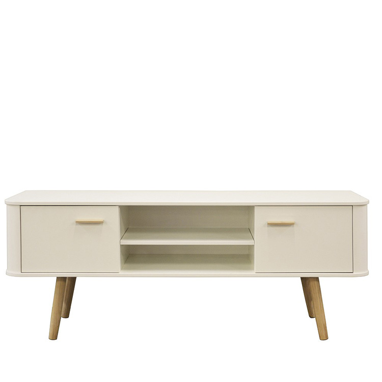 Malmo Scandinavian Style TV Cabinet White & Oak