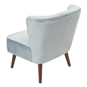 Marlene Cocktail Chair - Powder Blue Back