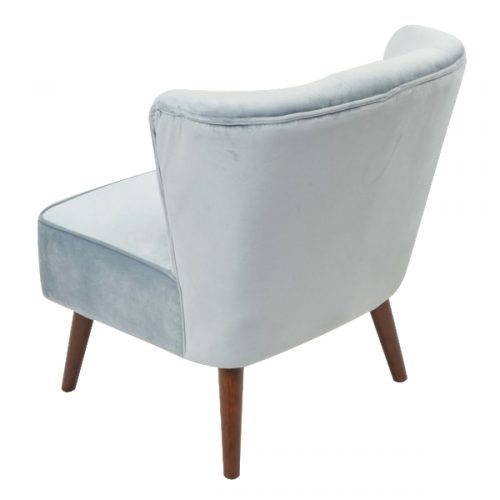 Marlene Cocktail Chair - Powder Blue Back