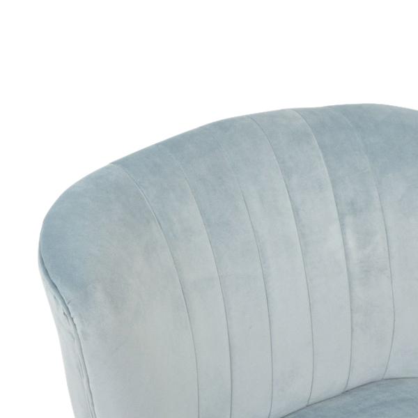 Marlene Cocktail Chair - Powder Blue Front
