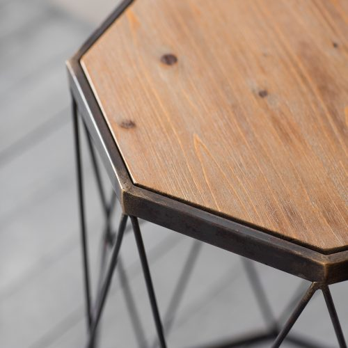 Wesley Wire Work Side Tables 2