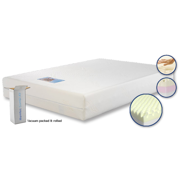 Concept Memtec Combi Air Memory Foam Mattress Fads
