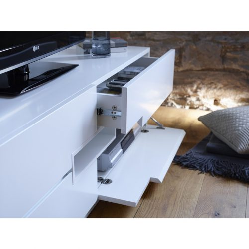 matt white tv media unit Modern-White-Low-TV-Sideboard---Savoye-WHITE-with-WHITE-accent-4