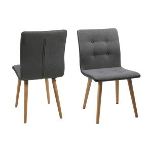 Nagano Frida grey dining chairs