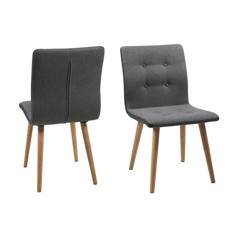 Nagano Frida grey dining chairs