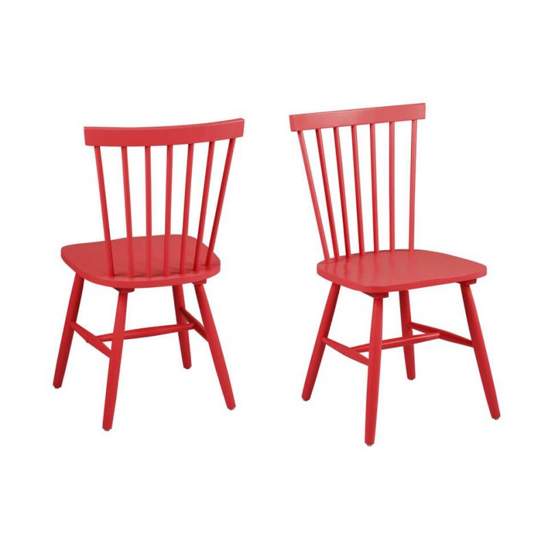 Riano Red Dining Chair at FADS.co.uk