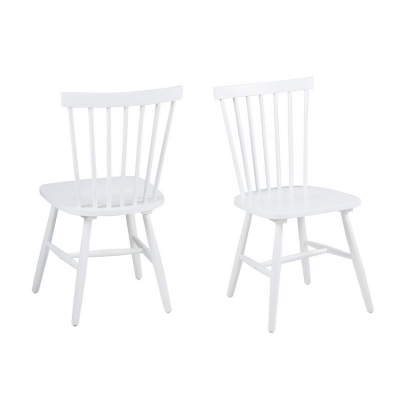 Riano White Dining Chair at FADS.co.uk