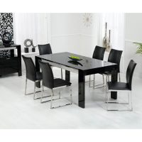 Sofia High Quality Gloss Dining Table at FADS.co.uk
